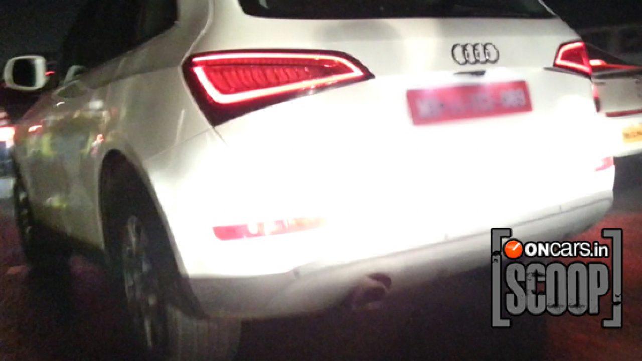 Spied 2013 Audi Q5 Facelift Caught Again Launch This Month