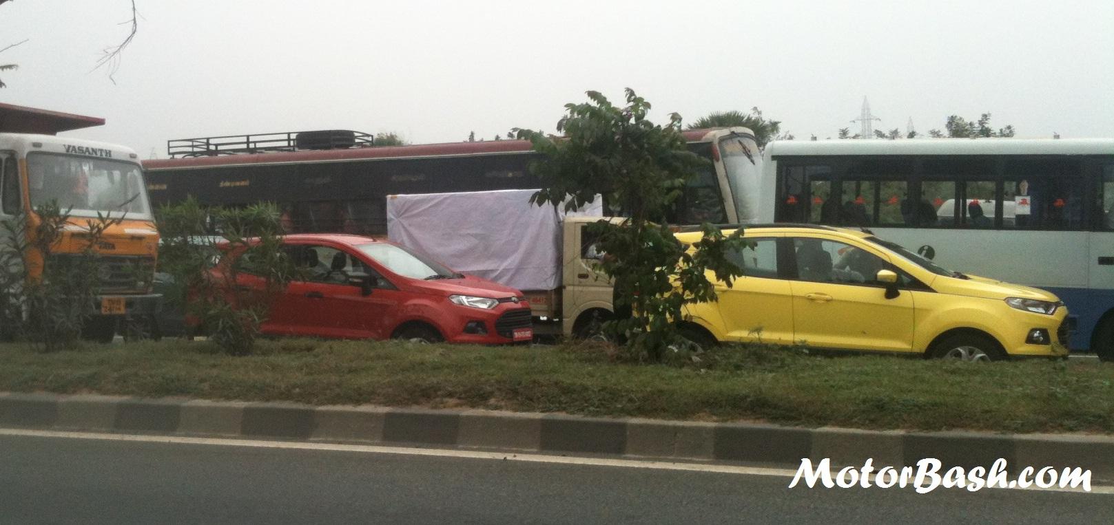 Ford-Ecosport-Yellow-Chennai