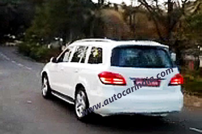 Mercedes-GL-350-BlueTEC-Diesel-Rear-India