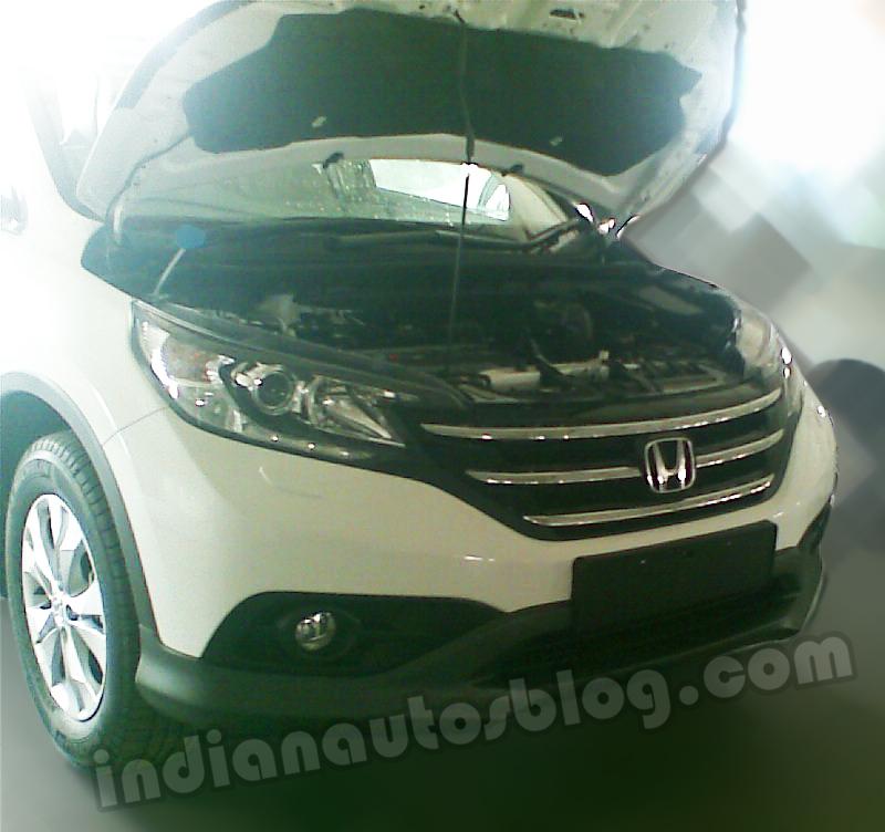 New-Honda-CR-V-for-India-front