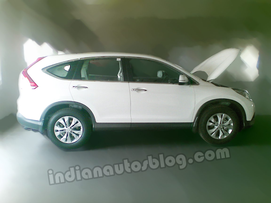 New honda cr v india side view