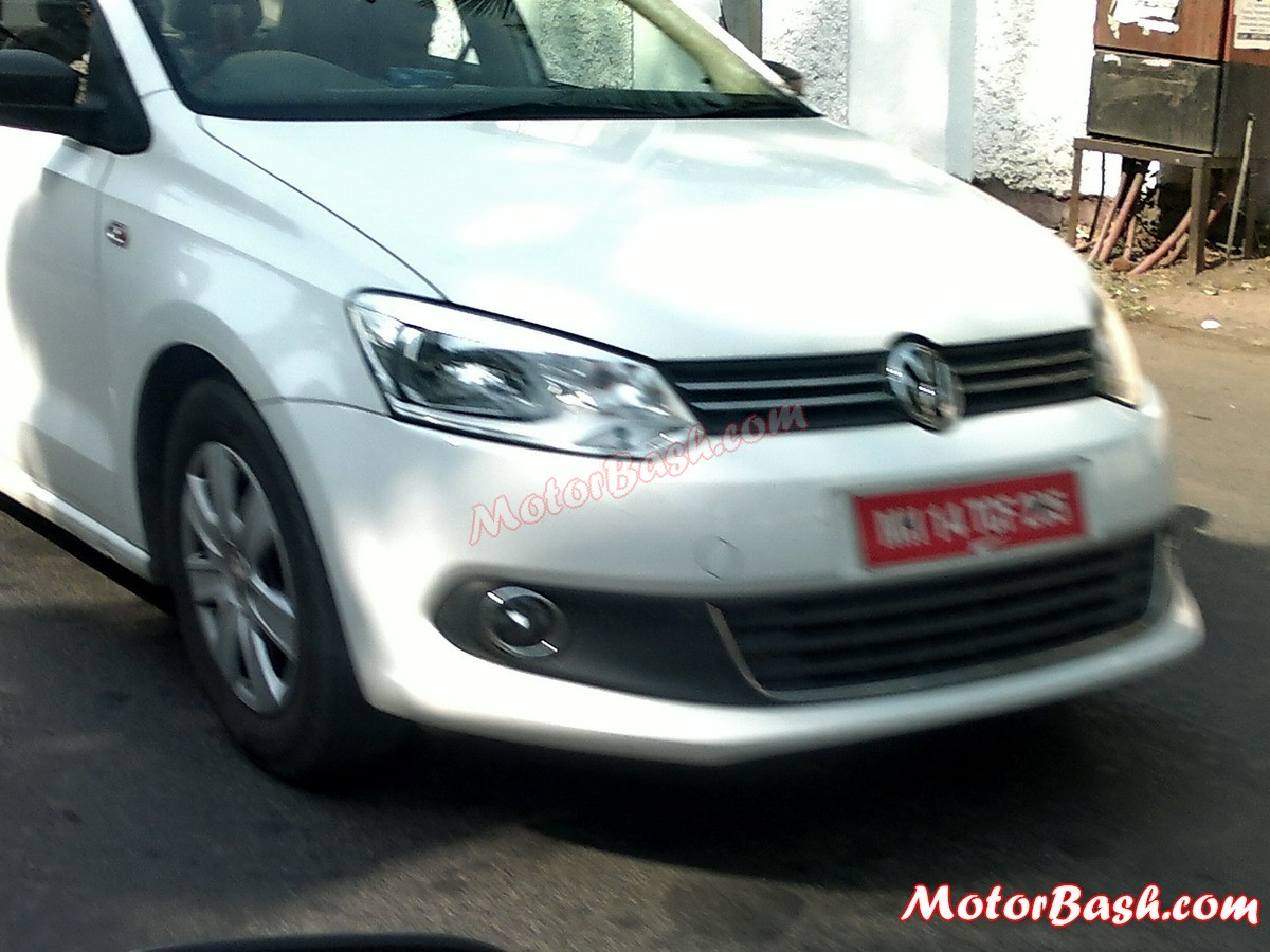 Spied Volkswagen Vento Cng Caught Again Launch Should Be