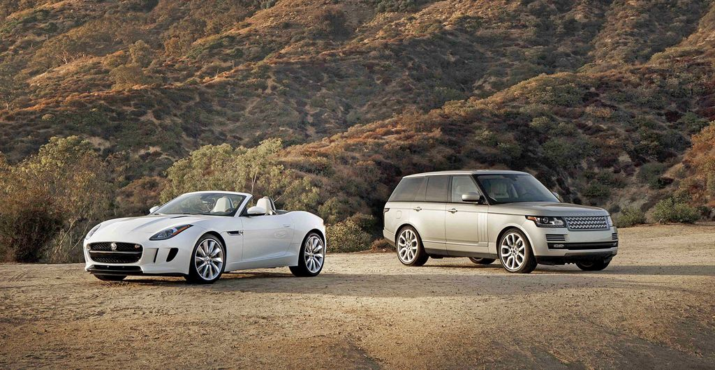 Jaguar F-Type and All New Range Rover
