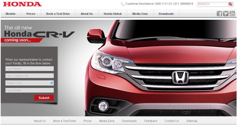 Honda-CR-V-Official-Website-Screenshot