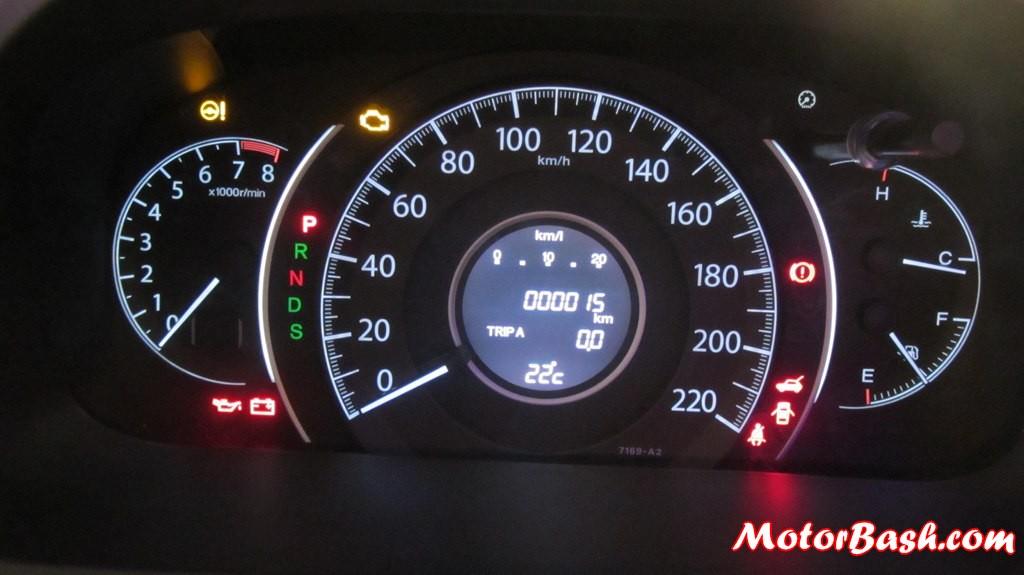 2013 Honda Crv Console