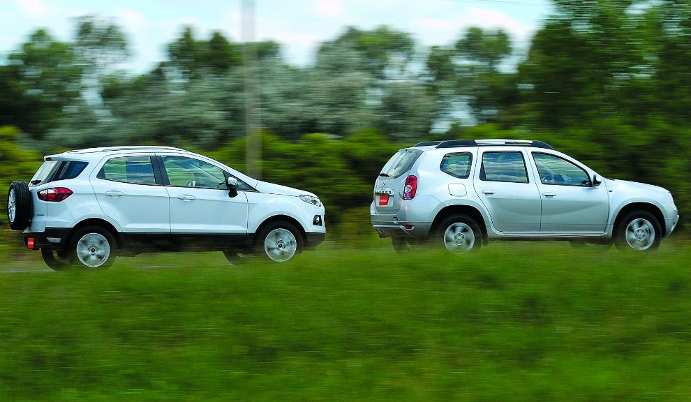 Ford Ecosport Vs Renault Duster In Pics Part 2