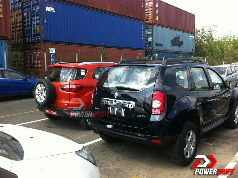 Ecosport-vs-Duster-Together-India-Rear