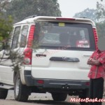 SPIED: Lower Variant of Mahindra Scorpio 4WD Automatic Caught Testing