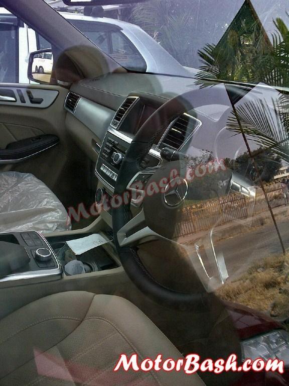 Mercedes-GL-350-India-Interior