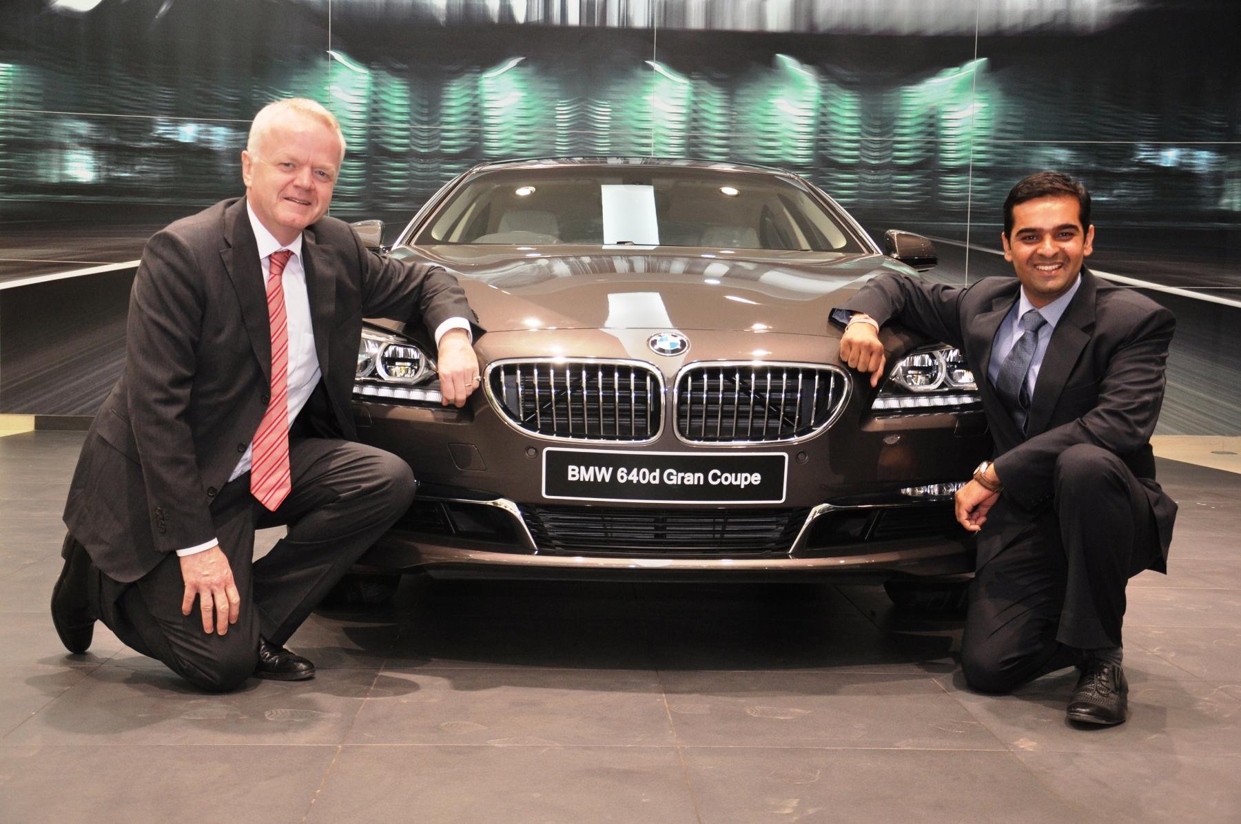 Mr. Philipp von Sahr President BMW Group India with Mr. Prashant Mandhan.-2