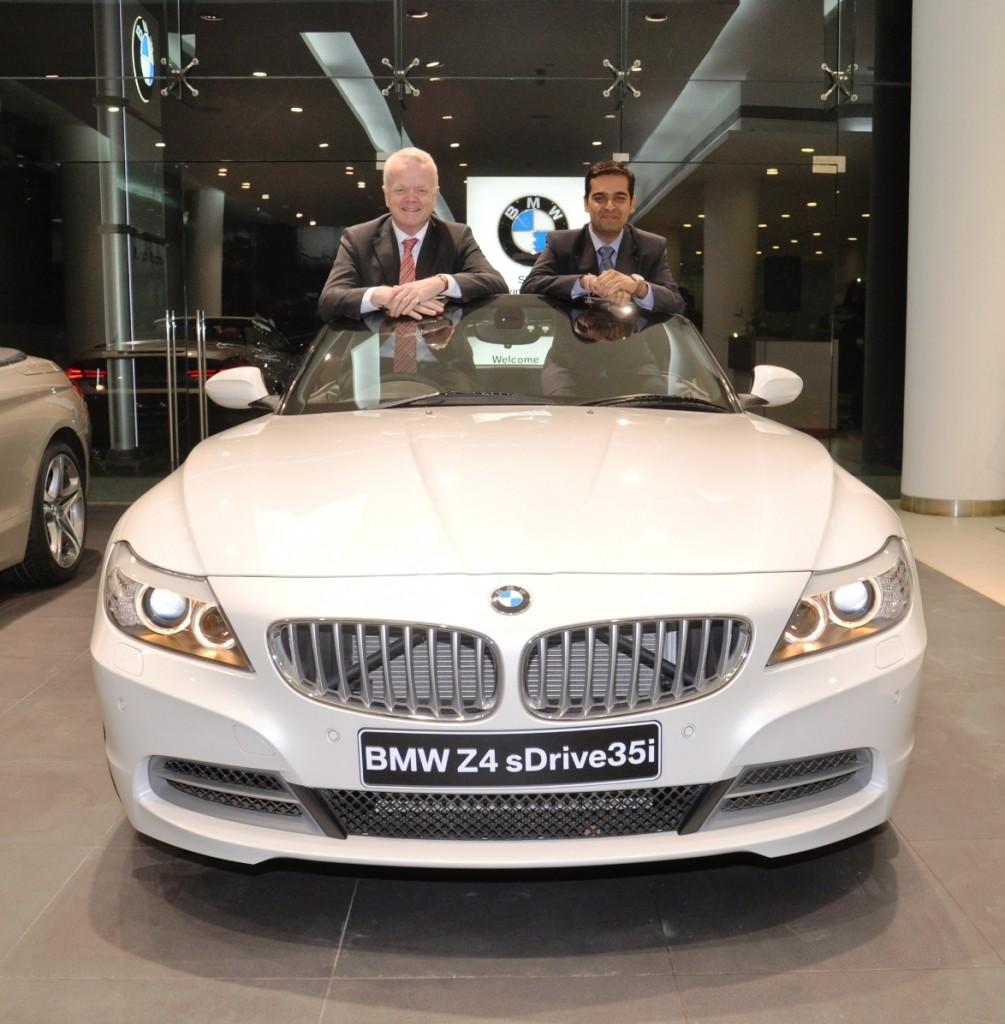 Mr. Philipp Von Sahr President BMW Group India with Mr. Prashant Mandhan.