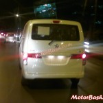 Xclusive: Revised Nissan Evalia With Rear Wiper Caught ARAI Testing