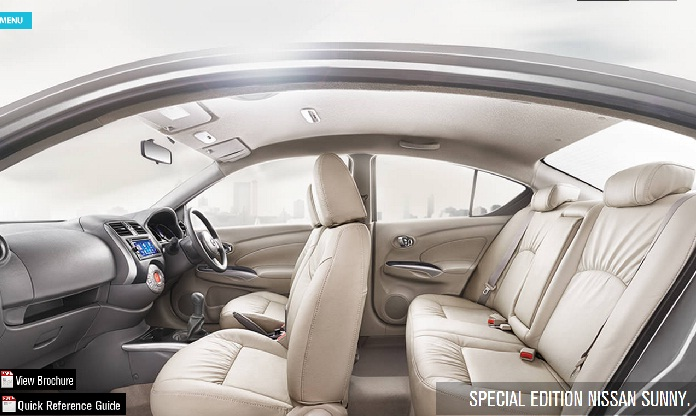 Nissan-Sunny-Special-Edition-Interiors