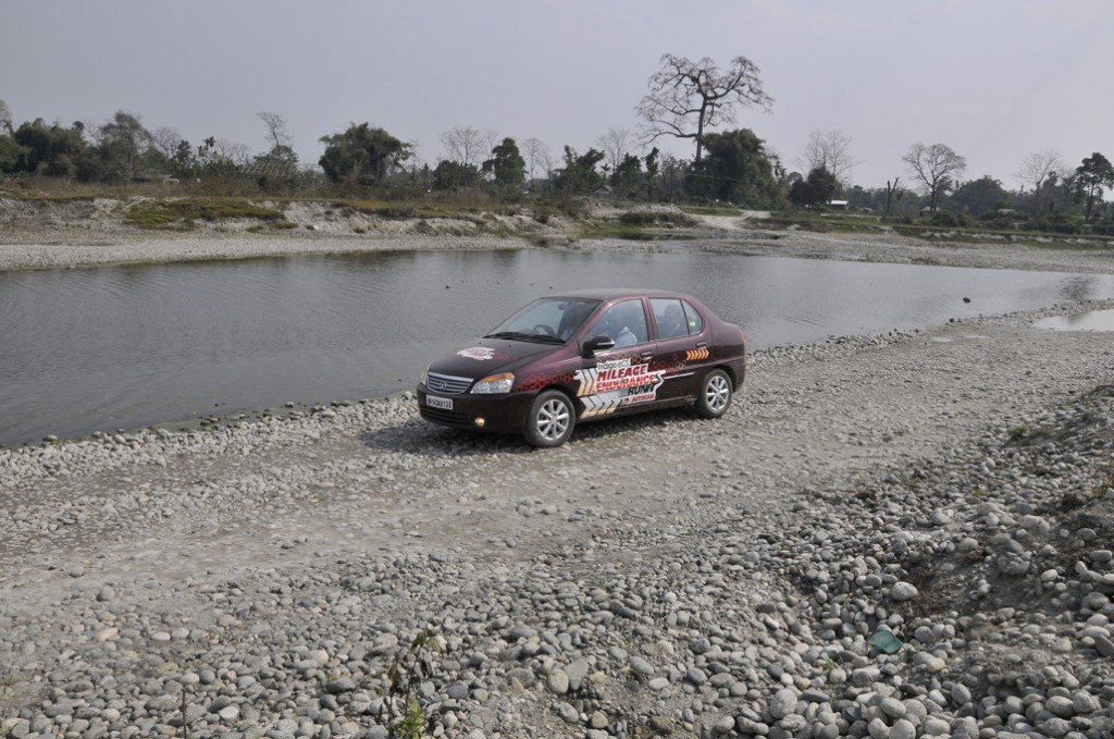 Tata Indigo eCS Endurance Run
