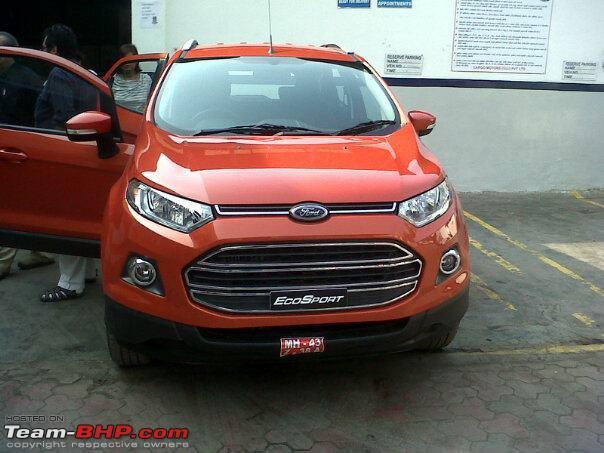 ford-ecosport-caught-in-dealer's-yard-in-maharashtra-2