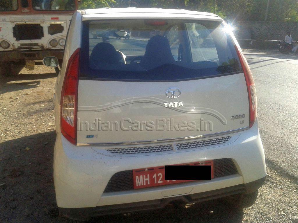 2013-Tata-Nano-Hatchback-Facelift-Spyshot-1