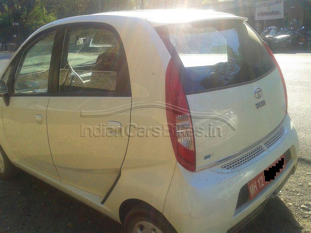 2013-Tata-Nano-Hatchback-Facelift-Spyshot-2