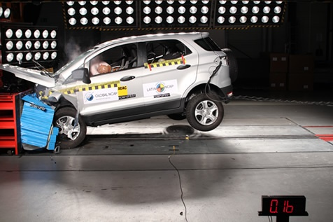 ford ecosport gets 4 stars in latin ncap crash test results. Black Bedroom Furniture Sets. Home Design Ideas