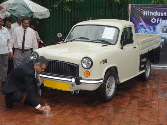 CK Birla Group company Hindustan Motors on Sunday announced the price of its newly introduced BS IV compliant diesel Ambassador at Rs 4,97, (ex-showroom Kolkata) under the .