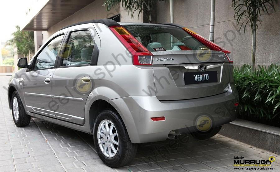 Mahindra-Verito-Compact-rear-render