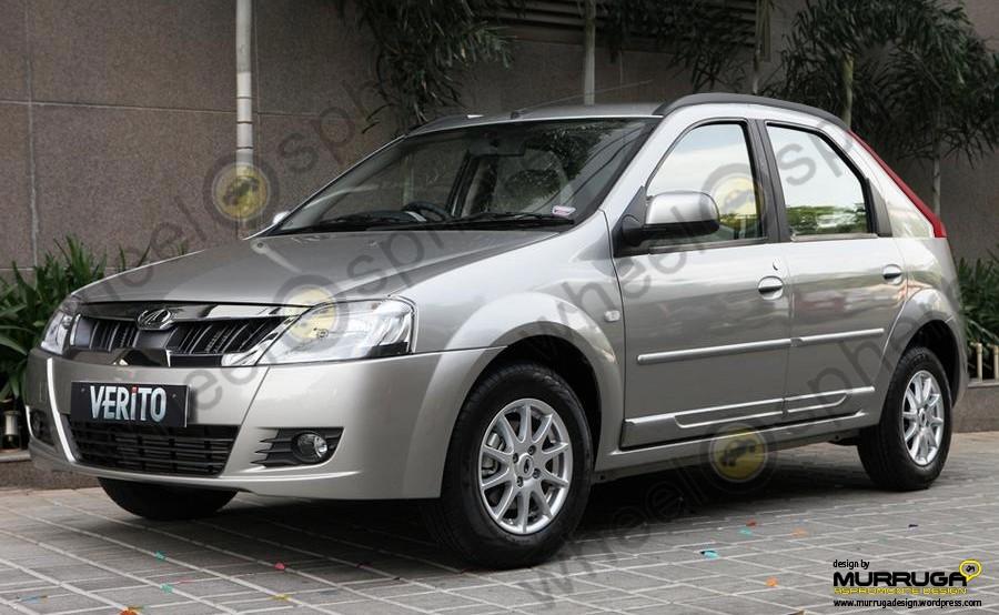 Mahindra-verito-Compact-front-render