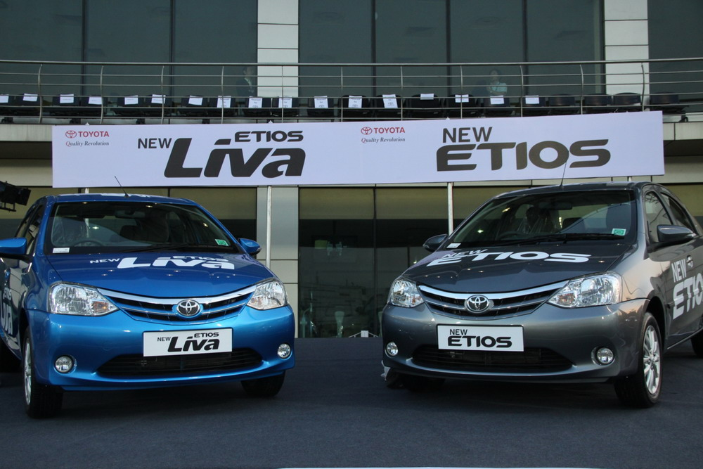 Toyota Launches Refreshed Etios And Etios Liva Prices Pics
