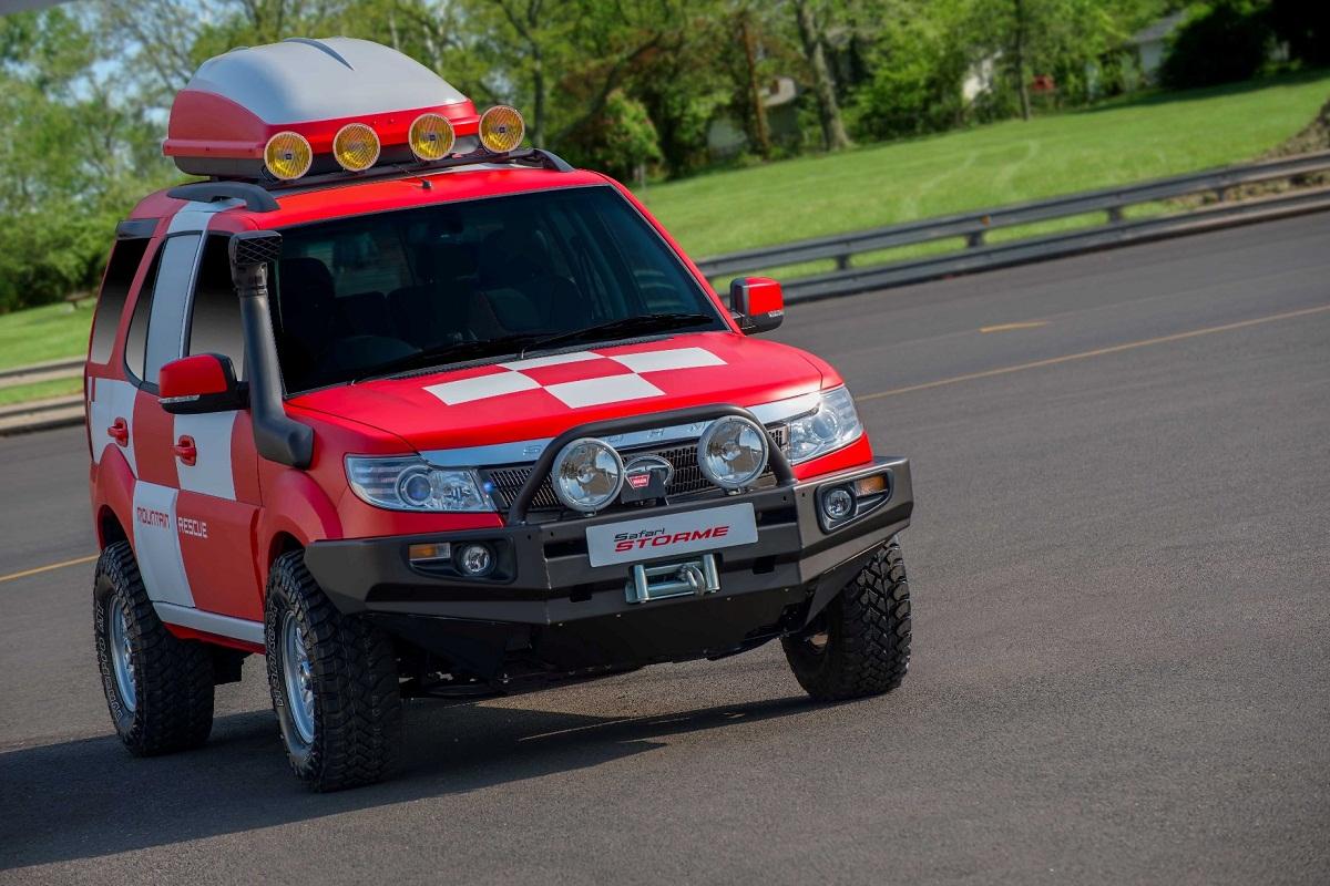 Tata Safari Storme Mountain Rescue Concept 2 Motorbash Com