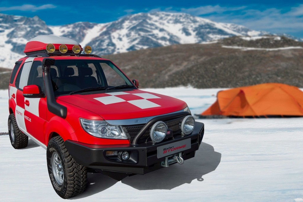 Tata Safari Storme Mountain Rescue Concept 6 Motorbash Com