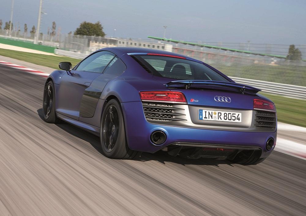 Audi R8 V10 plus/Fahraufnahmen