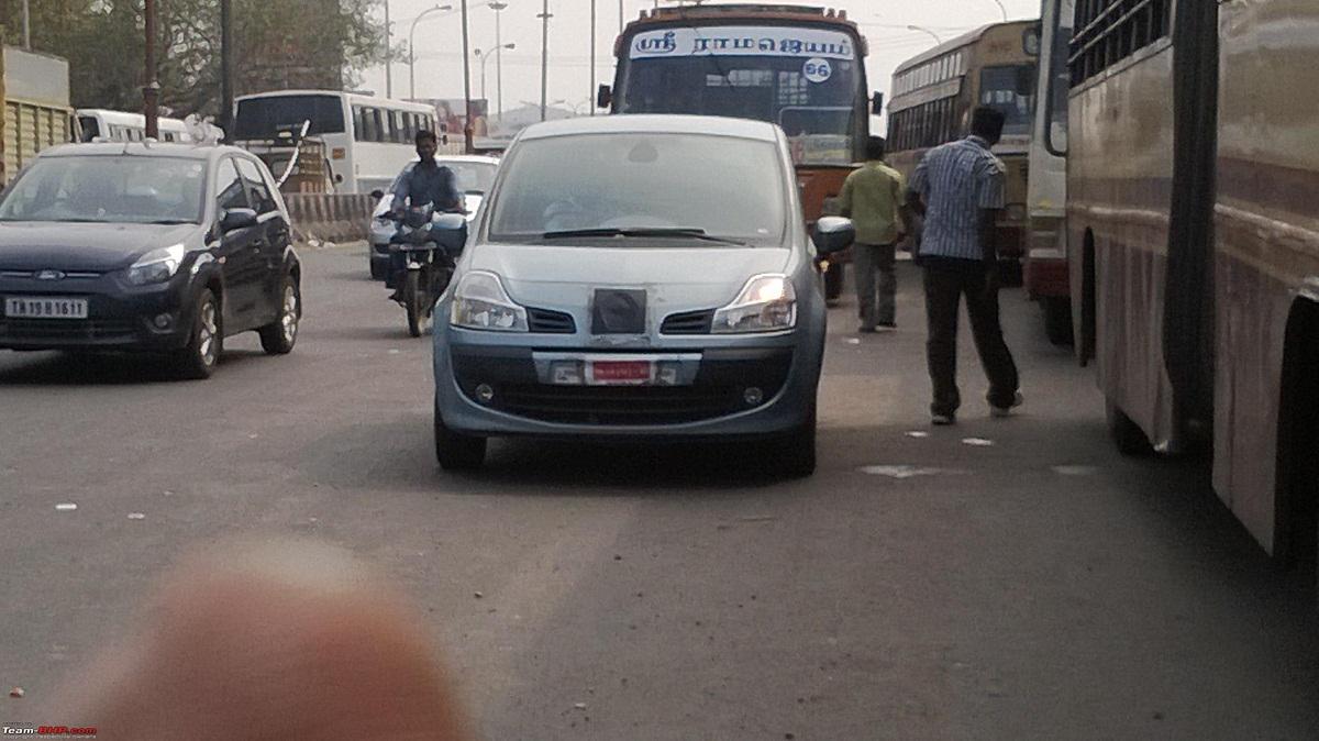 Renault-MOdus-India