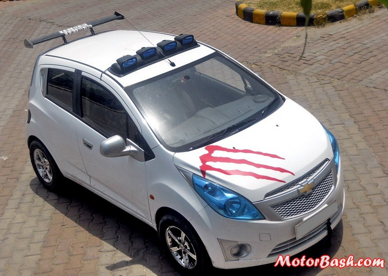 Chevy Spark Chevrolet Modified Beat Pictures