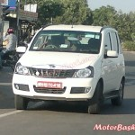SPIED: Fresh Spyshots of 5 Seater Mahindra Quanto 4X4