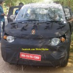 SPIED: Mahindra's EcoSport Challenger S101 is Here in Clear Spyshots