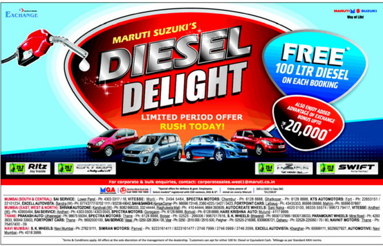 Maruti-Diesel-Delight-Offer-Swift-Dzire
