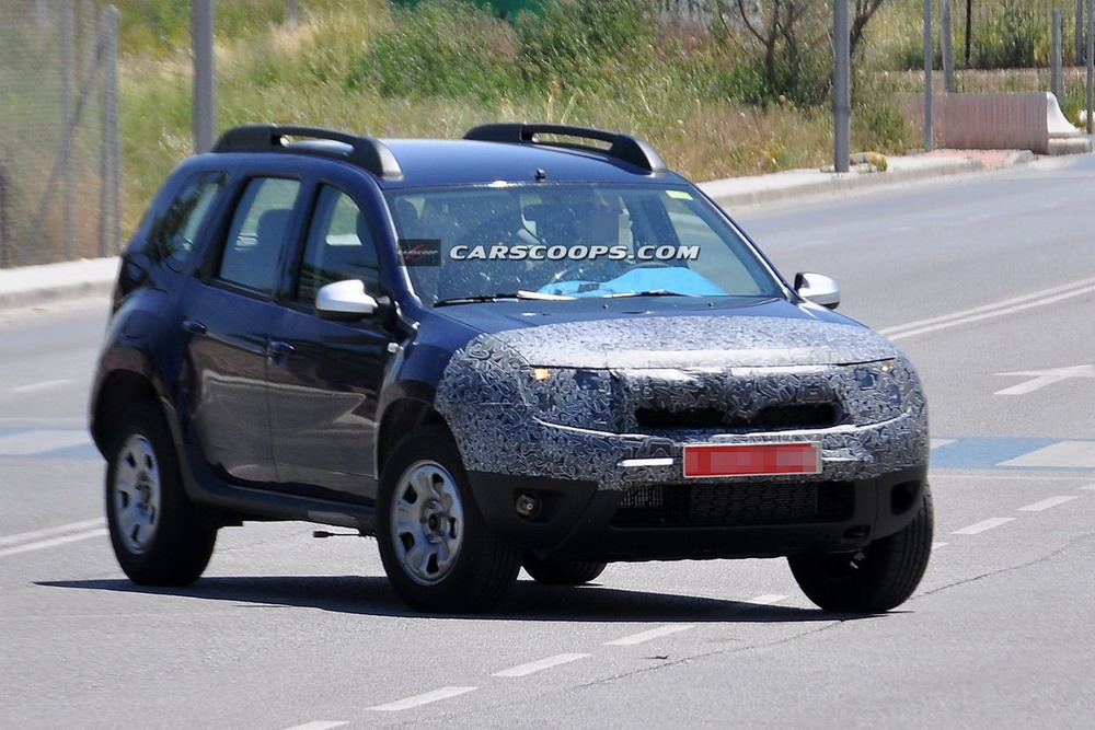 SPIED: Duster to Get a New Face; Spotted in Camouflage | MotorBash.