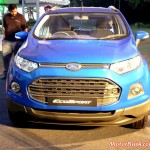 More Pics of EcoSport PowerShift Automatic in Kinetic Blue; Might be Priced @ Rs 8.75 Lakh