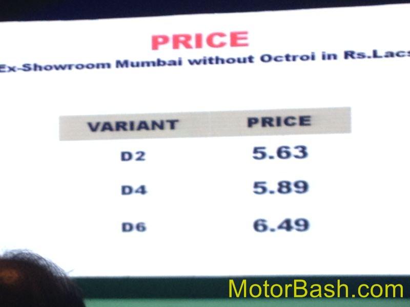 Mahindra-Verito-Vibe-Price