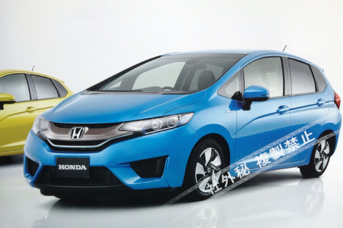 images of india bound next gen 2014 honda jazz leaked. Black Bedroom Furniture Sets. Home Design Ideas