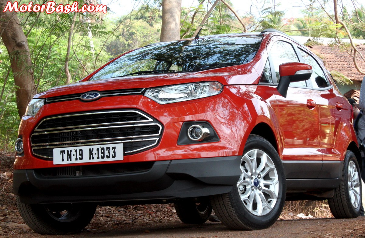 We Have Had A Recall Of Ford EcoSport
