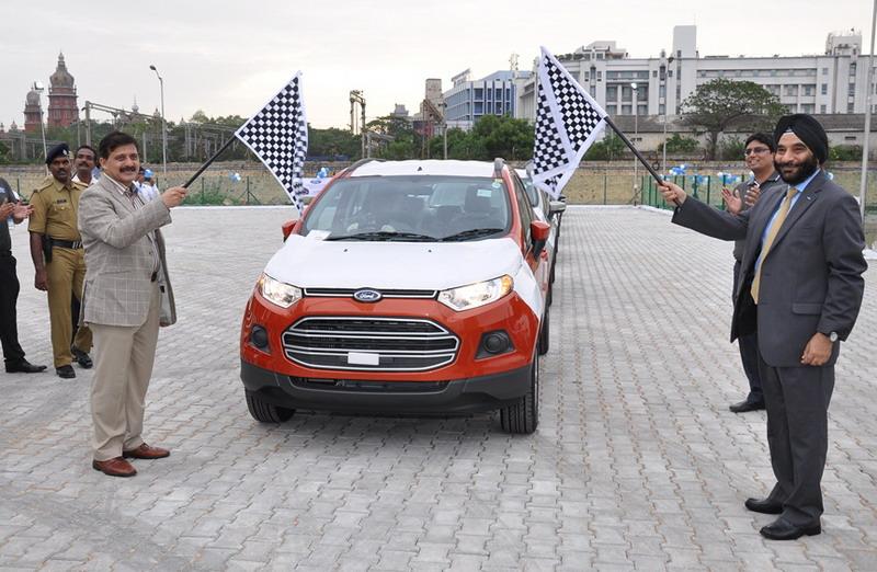 Ford-EcoSport-Export-Chennai-Port