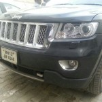 Spotted: The BIG Jeeps Caught Again; This Time at a Chennai FIAT Service Center