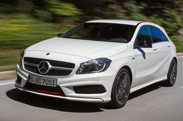 mercedes plans to launch a45 amg in india. Black Bedroom Furniture Sets. Home Design Ideas