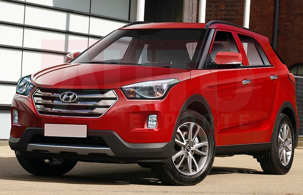 upcoming hyundai 39 s compact suv will not be a sub 4 meter car new details revealed. Black Bedroom Furniture Sets. Home Design Ideas