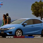 Will the Next-Gen 2014 Honda City Look Like This Rendering? Coming Next Year to India