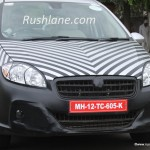 SPIED: First Ever Frontal Shots of 2014 Fiat Linea Facelift; Will Debut 1.6 MJD