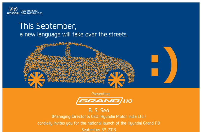 new car releases september 2013Hyundai Grand i10 Launch on 3rd September Is It Hyundais