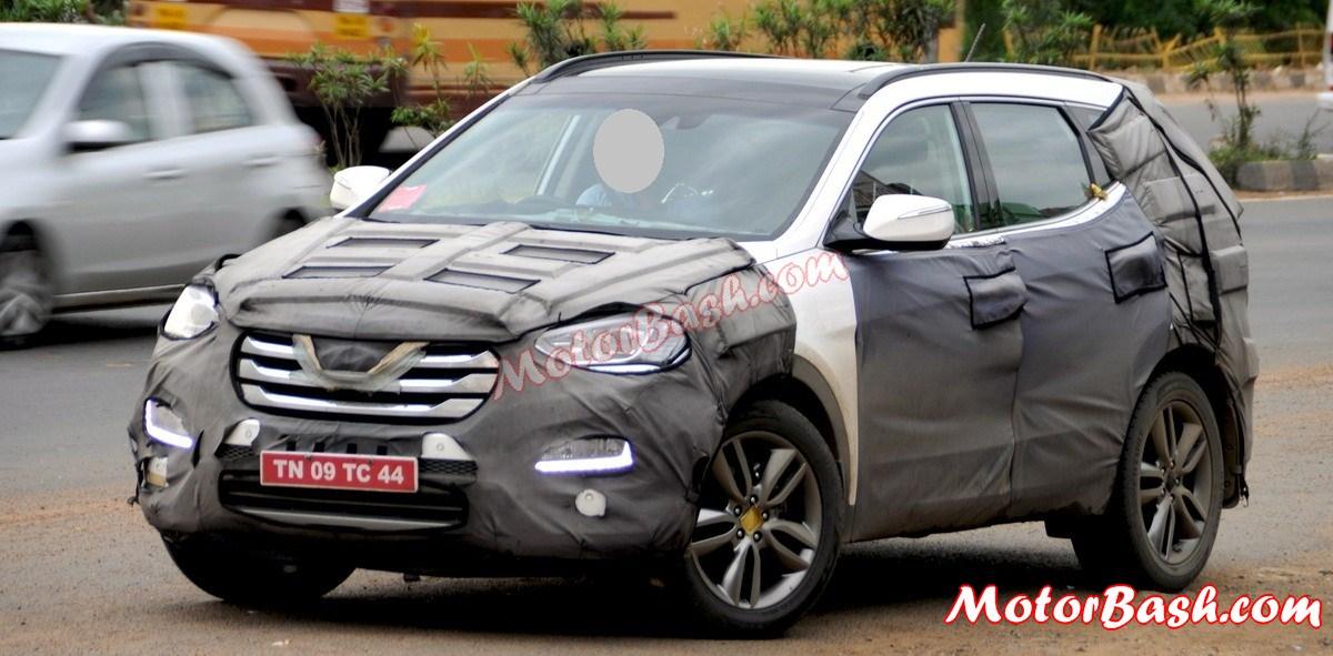 Next Gen Hyundai Santa Fe India 5