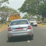 A Day Before its Official Unveiling, Three Mules of Skoda Octavia Spotted Together