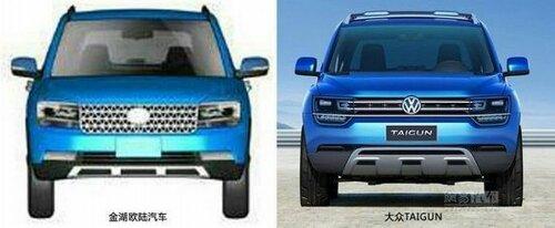 VW Taigun Clone