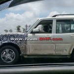 SCOOP: 2014 Mahindra Scorpio Facelift in the Making; Camouflaged Mule Caught On NH4